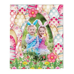 "NEW!!! Personalized Easter Eggcellent Fleece 50"" x 60"" Throw Blanket"