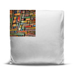 Painted Books - Oversized Throw Pillow