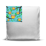 Owl Vin & the Whos - Oversized Throw Pillow