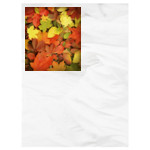 Fallen Leaves - Small Throw Blanket