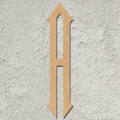 "20"" Diamond Script Wood Mongram Single Letter - Wall Décor"