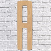 "20"" Block Script Wood Mongram Single Letter - Wall Décor"