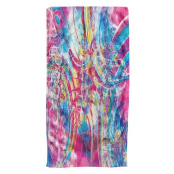 Cotton Candy Tripp Oversized Beach Towel 30