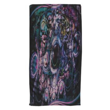 Funky Abstraction Oversized Beach Towel 30