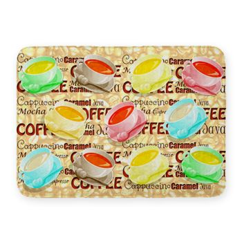 NEW!! Coffee Cup Kitchen Mat. 27