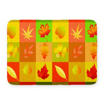 NEW!! Leaves Kitchen Mat. 27