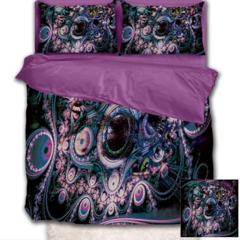 NEW!! Funky Abstraction Duvet Cover - Queen Thumbnail