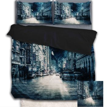 NEW!! Stormy Night Duvet Cover - Queen Thumbnail