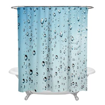 Rain Drop Shower Curtain Thumbnail