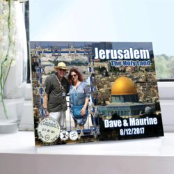 NEW!!! Personalized World Travel Photo Print: Jerusalem, Israel. 5