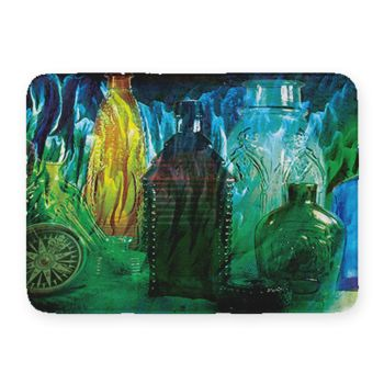 Bottles Coral Fleece Bath Mat Thumbnail