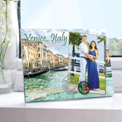 NEW!!! Personalized World Travel Photo Print: Venice, Italy. 5