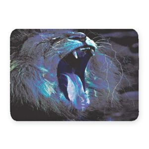 Roaring Lion Coral Fleece Bath Mat Thumbnail