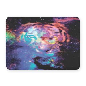 Starry Tiger Coral Fleece Bath Mat Thumbnail