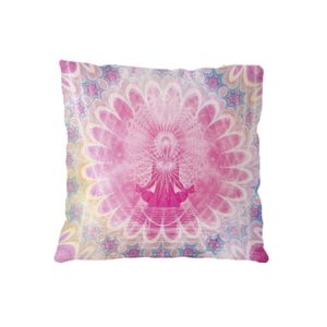 NEW!!!  Meditation Microfiber Throw Pillow - 16