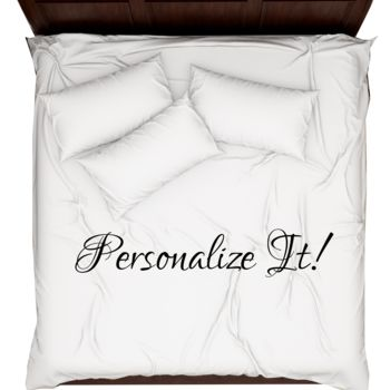 Personalized Photo Collage Duvet Cover - King Thumbnail