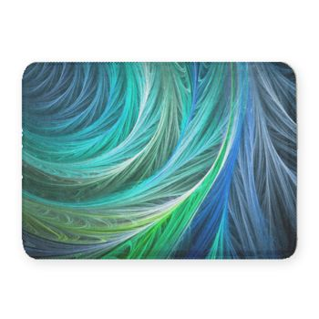 Cyanotic Coral Fleece Bath Mat Thumbnail