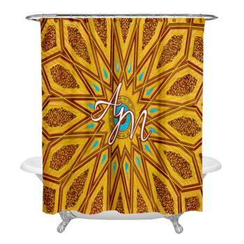 NEW!!! Eye of Egypt Personalized Photo Shower Curtain Thumbnail