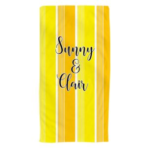 NEW!!! Personalized Sunny Photo Collage Beach Towel Thumbnail