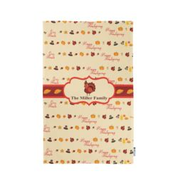 Personalized Photo Collage Thanksgiving Pattern Kitchen Towel 11