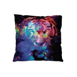 NEW!!!  Starry Tiger Microfiber Throw Pillow - 20