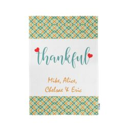 Personalized Thankful Kitchen Towel 11