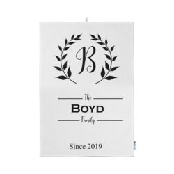 Personalized Simply You Monogrammed Kitchen Towel 11