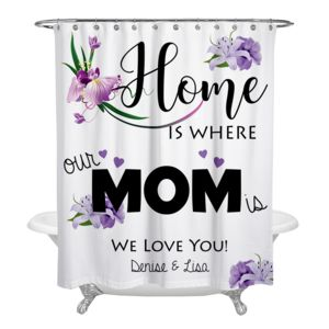 NEW!!! Mother's Day Personalized Photo Shower Curtain Thumbnail