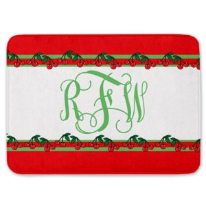 NEW!!! Personalized Cherry Monogrammed Kitchen Floor Mat 27