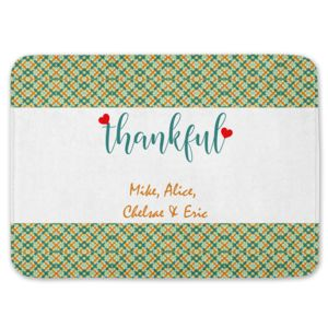 NEW!!! Personalized Thankful Kitchen Floor Mat 27
